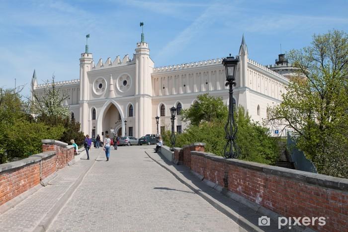 Naklejka Pixerstick Zamek królewski i muzeum w Lublinie. Polska. - Tematy