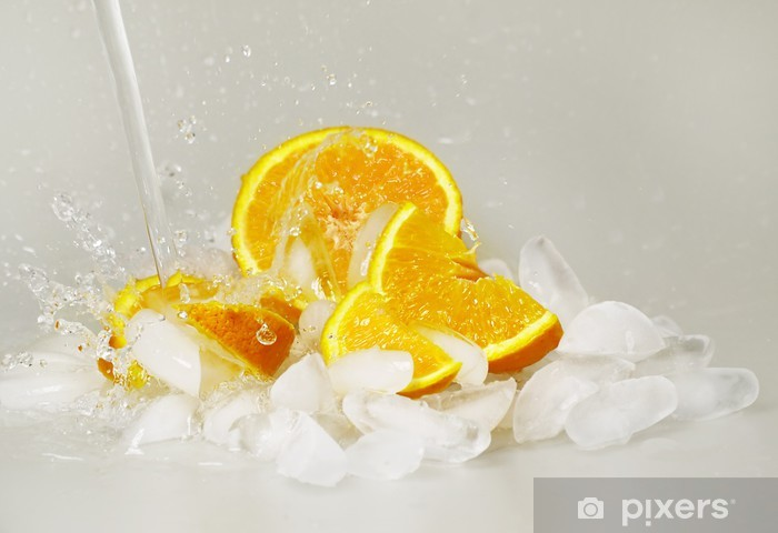 Fototapeta winylowa Pomarańczowy powitalny # 4 - Owoce