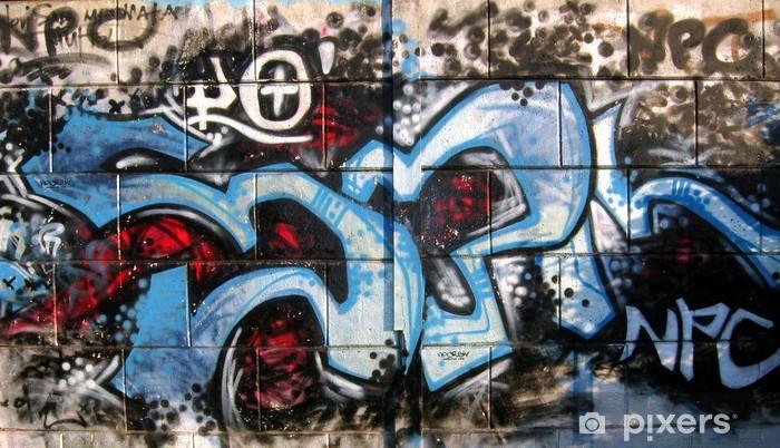 Papier peint vinyle Tag graffiti - Thèmes
