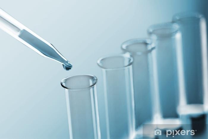 Aufkleber Wissenschaft Labor Reagenzgläser Laborgeräte Pixerstick