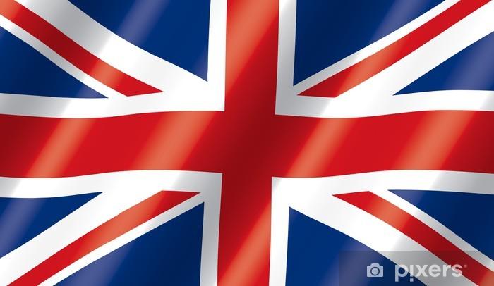 Fototapeta winylowa British flag płynący - Tematy
