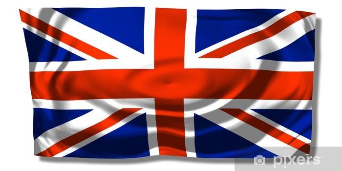Nálepka Pixerstick Velká Británie - Union Jack - Prázdniny