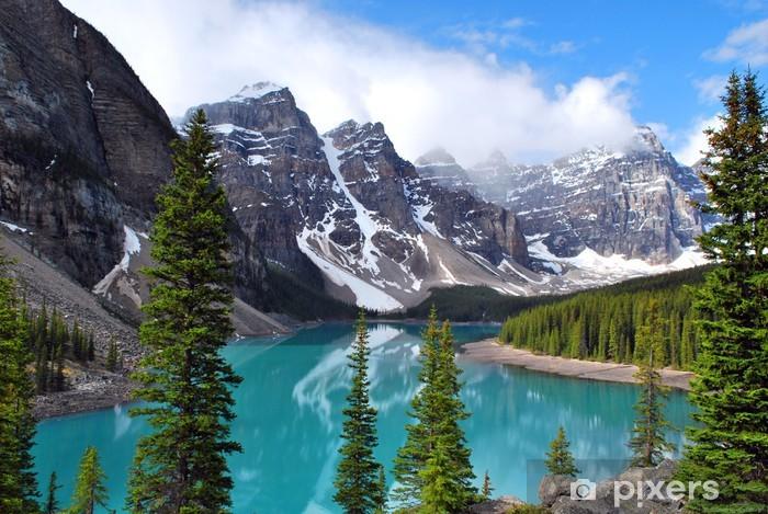 Moraine Lake In Banff National Park Alberta Canada Wall Mural Vinyl
