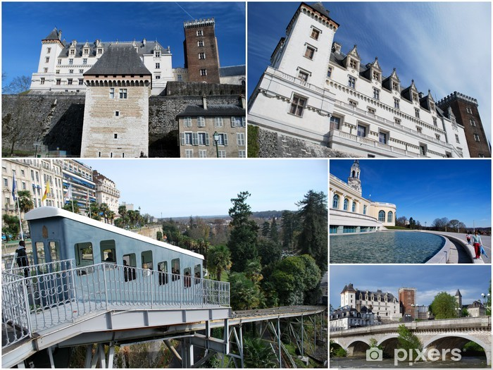 Papier peint La ville de Pau • Pixers®   Nous vivons pour changer