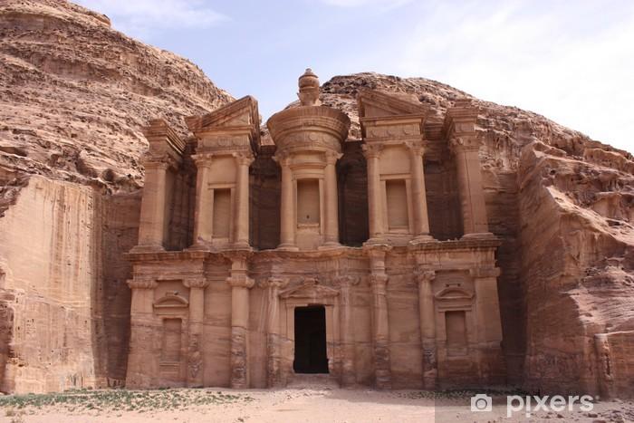 Fototapeta winylowa Klasztor Deir al-o, Petra - Bliski Wschód