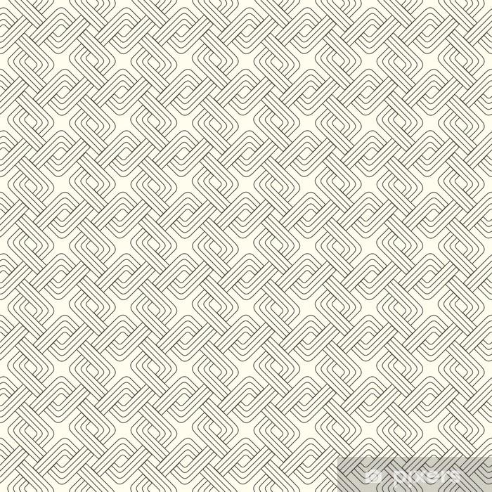 Vævning firkanter Vinyl fototapet - Baggrunde