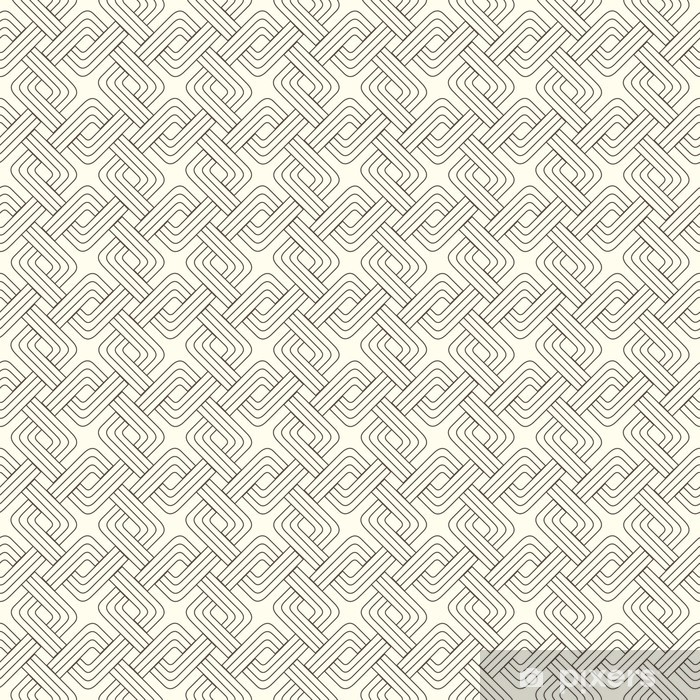 weaving squares Vinyl Wall Mural - Backgrounds