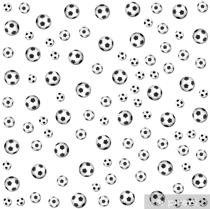 Fototapeta winylowa Football background - Tła