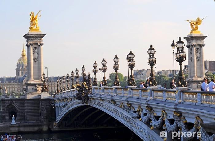 Sticker Pixerstick Pont alexandre 3 (Paris) - Villes européennes