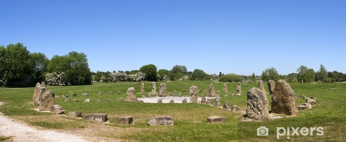 Naklejka Pixerstick Kamień koło Milton Keynes - Europa