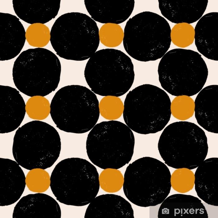 Nálepka Pixerstick Abstraktní geometrický vzor - Grafika