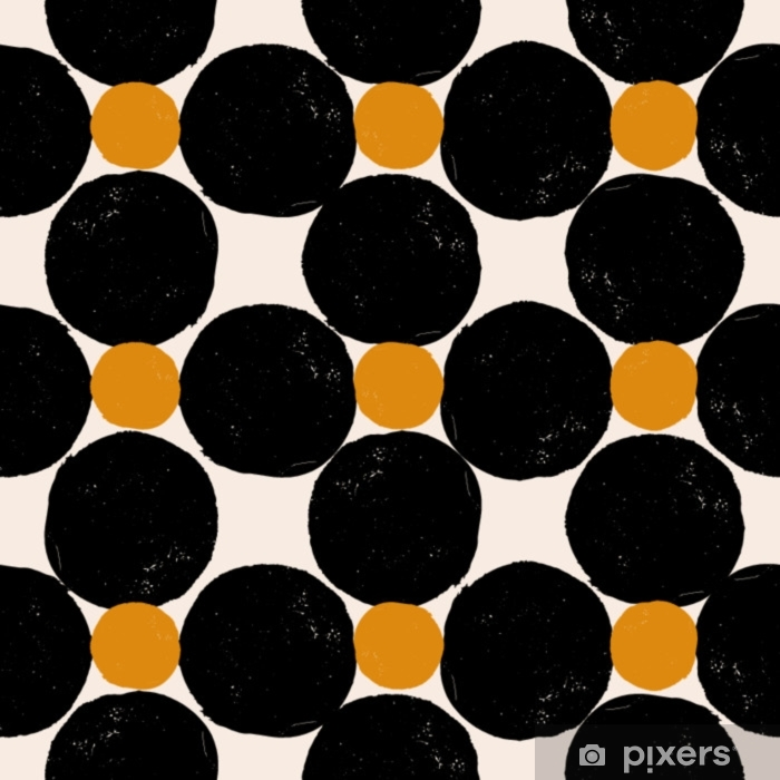 Vinilo Pixerstick Patrón geométrico abstracto - Recursos gráficos