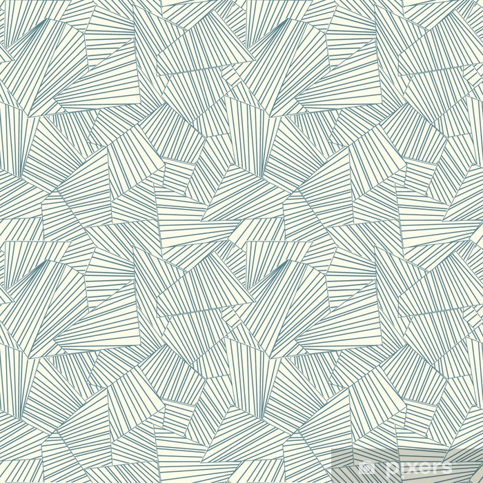 lattice pattern Vinyl Wall Mural - Styles