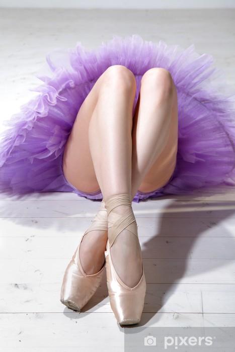 Naklejka Pixerstick Ballerina nogi - Tematy