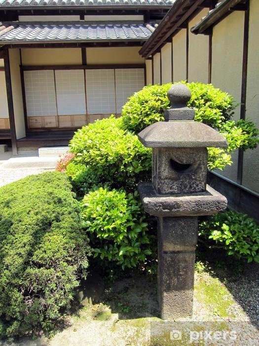 Naklejka Pixerstick 20100531_ ogród japoński - Budynki prywatne