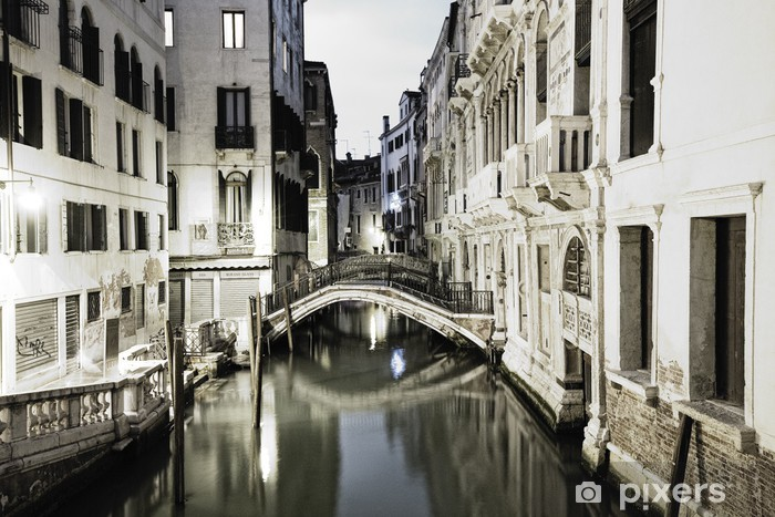 Nálepka Pixerstick Benátky v noci - Témata