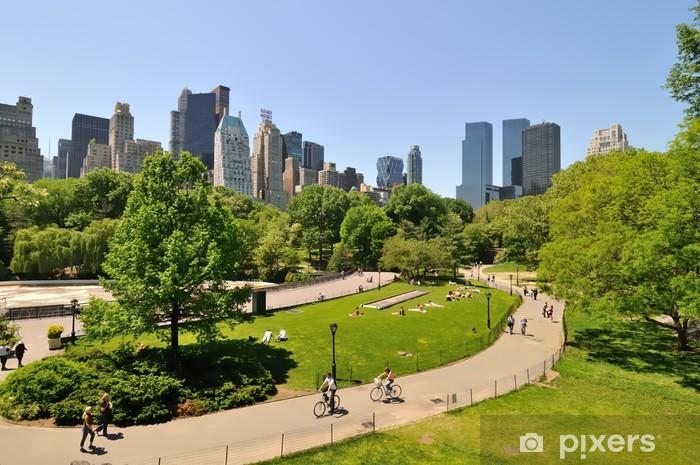 Fotomural Estándar Central park - Ciudades norteamericanas