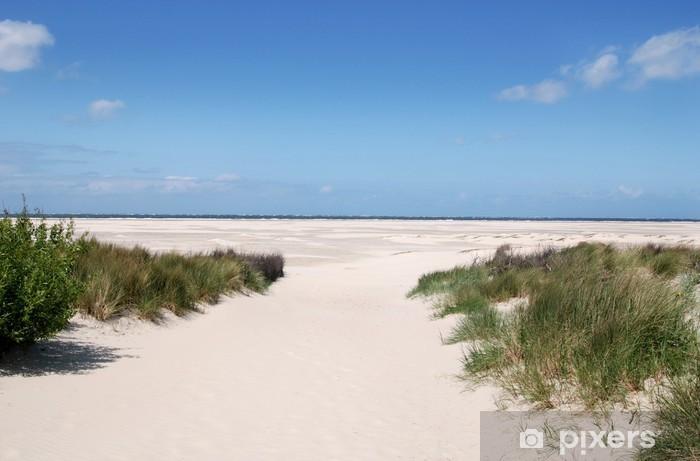 Nálepka Pixerstick Písečná pláž - Prázdniny