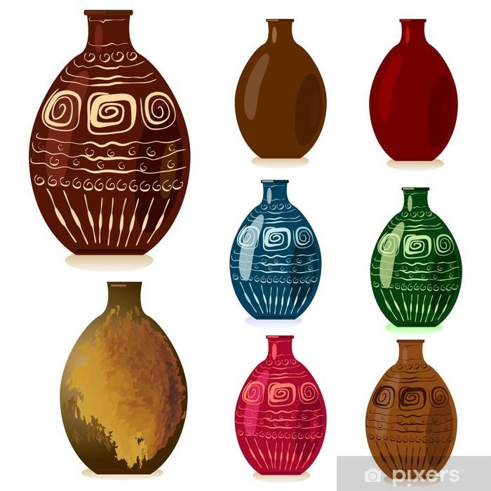decorative vases Pixerstick Sticker - Art and Creation