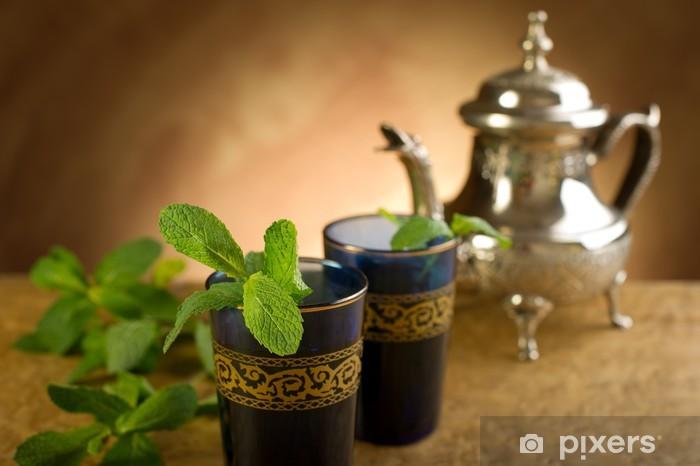 Fototapeta winylowa Marokańska miętowa herbata marokańska mięta-sam - Posiłki
