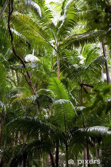 Tropischer Regenwald Vinyl fototapet -