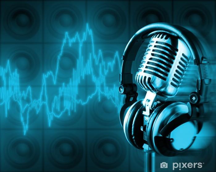 Pixerstick Dekor Musik energi (+ urklippsbana, xxl) - Hio hop