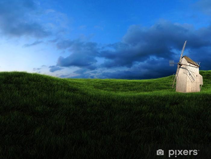 Fototapeta winylowa 3d niebo - Pory roku