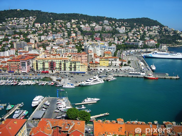 Fototapeta winylowa Port of Nice, Lazurowe Wybrzeże, Francja - Europa