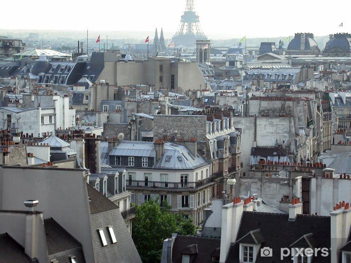 Papier Peint Vue De Paris Pixers Nous Vivons Pour Changer