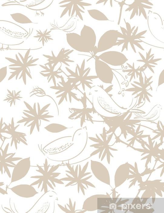 Vinil Duvar Resmi Pazar - Çiçekler