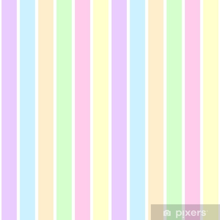 Pastel Stripes Wall Mural Pixers 174 We Live To Change