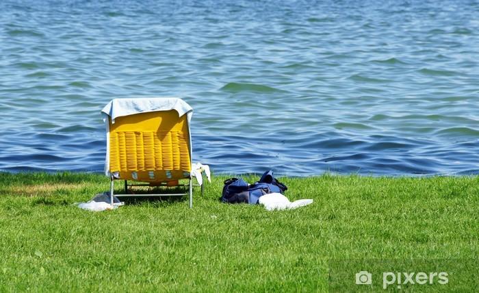 Vinyl-Fototapete Urlaub am See - Urlaub am See - Urlaub