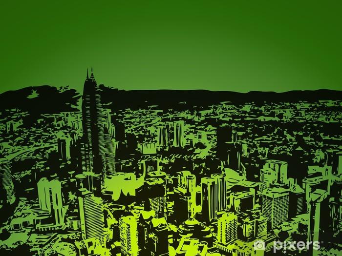 şehir Arka Plan Duvar Resmi Pixers Haydi Dünyanızı Değiştirelim