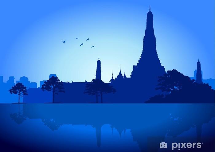 Nálepka Pixerstick Bangkok - Asie