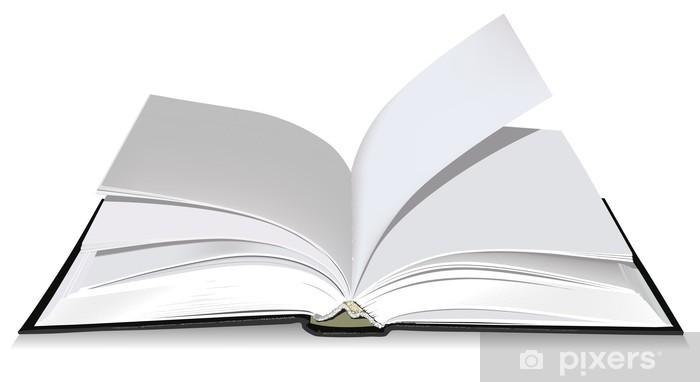 Papier Peint Lavable Livre Ouvert