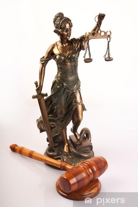 Fototapeta winylowa Temida - Bóg prawa - Sprawiedliwość