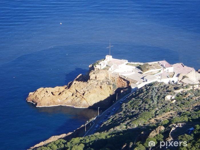 Naklejka Pixerstick Oran - Algieria fort Lamoune - Afryka
