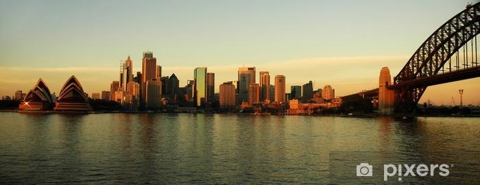 Vinylová fototapeta Sydney panorama - Vinylová fototapeta