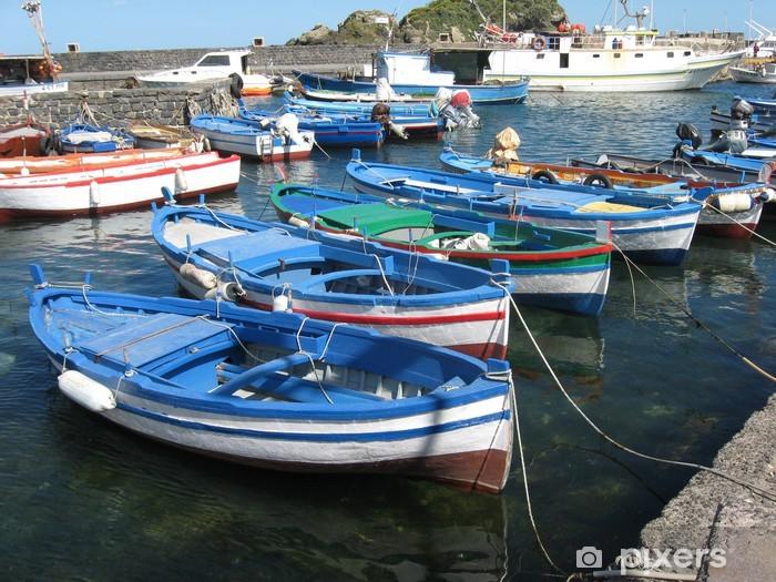Fototapeta winylowa Sycylia Boats - Europa