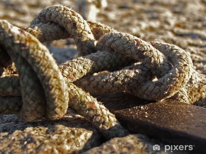 Fototapeta winylowa Knots Sailor - Sporty wodne