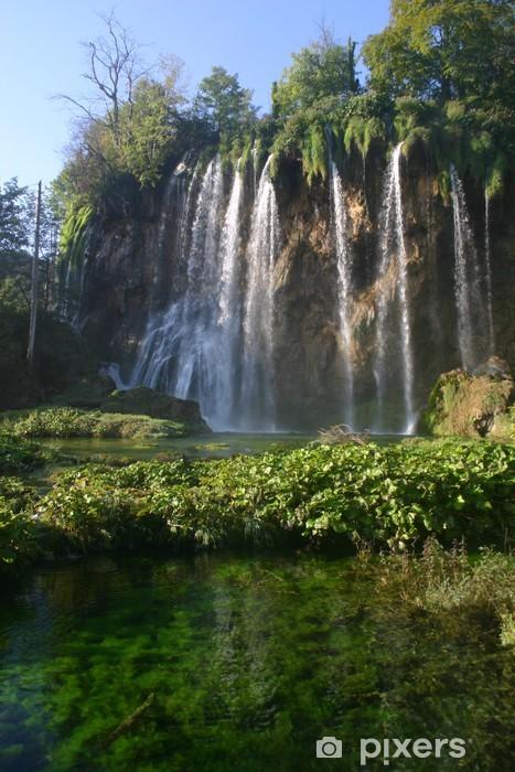 Nálepka Pixerstick Chorvatsko vodopády - Témata
