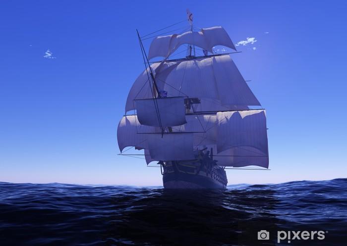 Fototapeta winylowa Starożytnego statku - Transport wodny