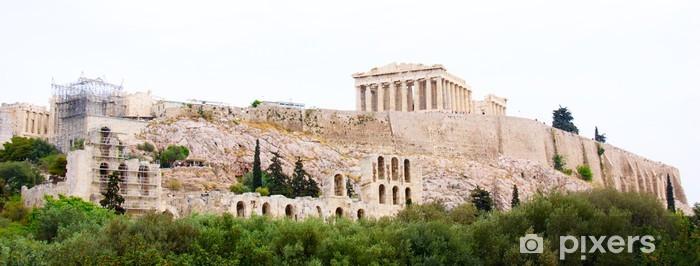 Sticker Pixerstick Le Parthénon, à Athènes Akropolis, Grèce - Art et création