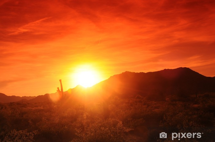 Papier peint vinyle Arizona Sunset - Ciel