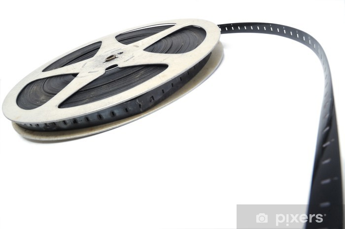 Fototapeta winylowa Czarno-biały film - kino - Rozrywka