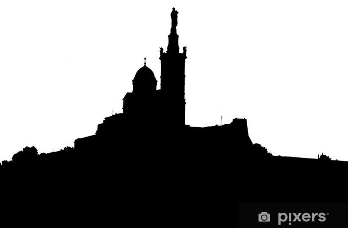 Pixerstick Sticker Marseille, de Notre Dame de la Garde - iStaging