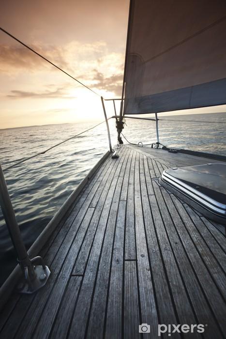 Fototapeta winylowa Jacht - Chorwacja