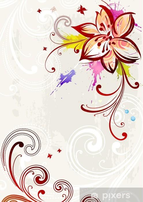 Papier Peint Fleur De Lys Stylisee Pixers Nous Vivons Pour Changer