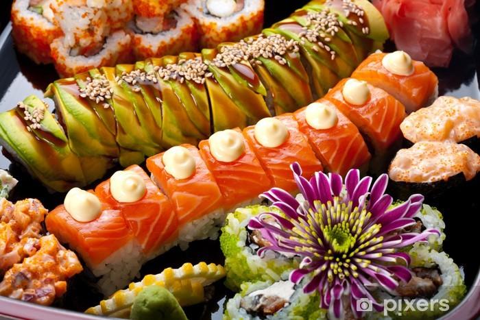 Vinylová fototapeta Sushi a Rolls - Vinylová fototapeta