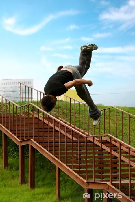 Fototapeta winylowa Jump Parkour - Sporty indywidualne
